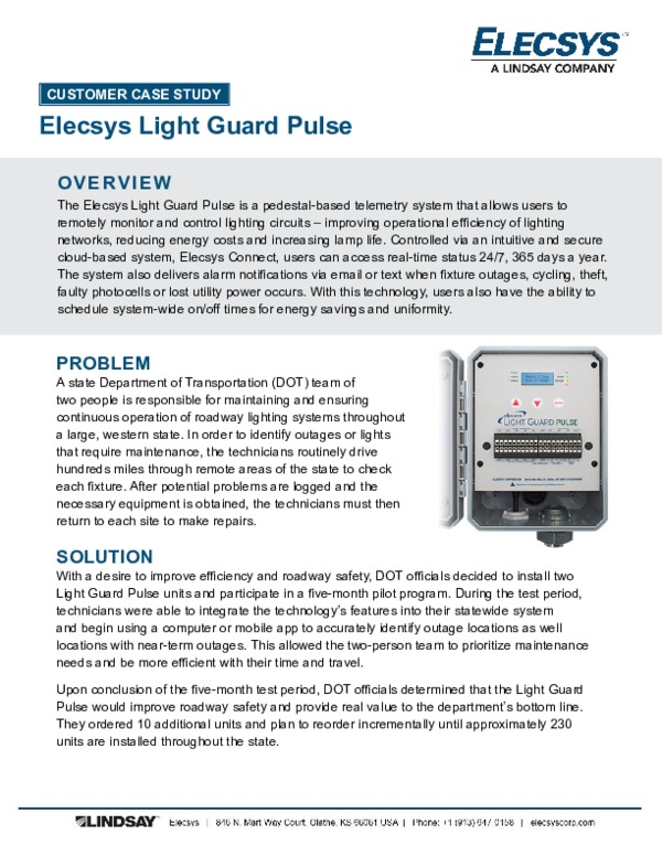 Light Guard Pulse Case Study