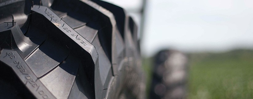 Radial Tires Reduce Tracking Problems and Cut Maintenance Costs