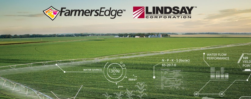 Partnership With Farmers Edge Will Deliver Unmatched  Irrigation Management Solutions