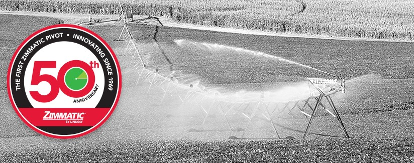 Zimmatic Pivot Number One – 50 Years Strong