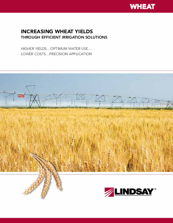 Increasing Wheat Yields