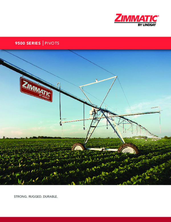 Zimmatic 9500P Center Pivot Brochure