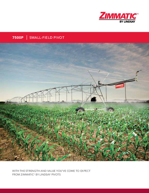 7500P Small Field Pivot Brochure
