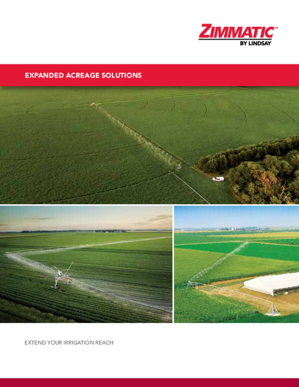 Zimmatic Expanded Acreage Solutions