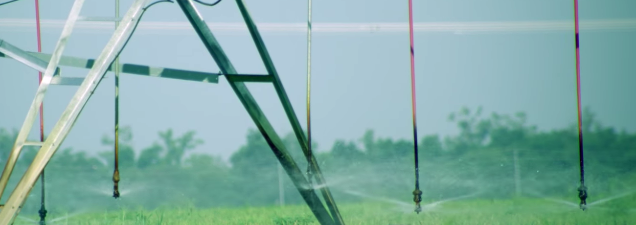 Pivot Irrigation for Rice