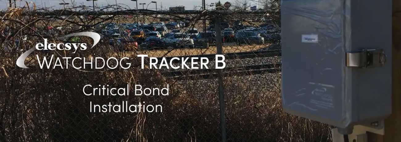 Tracker B Critical Bond Installation