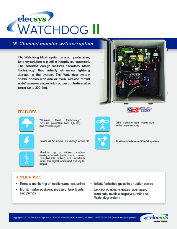 Elecsys Watchdog II