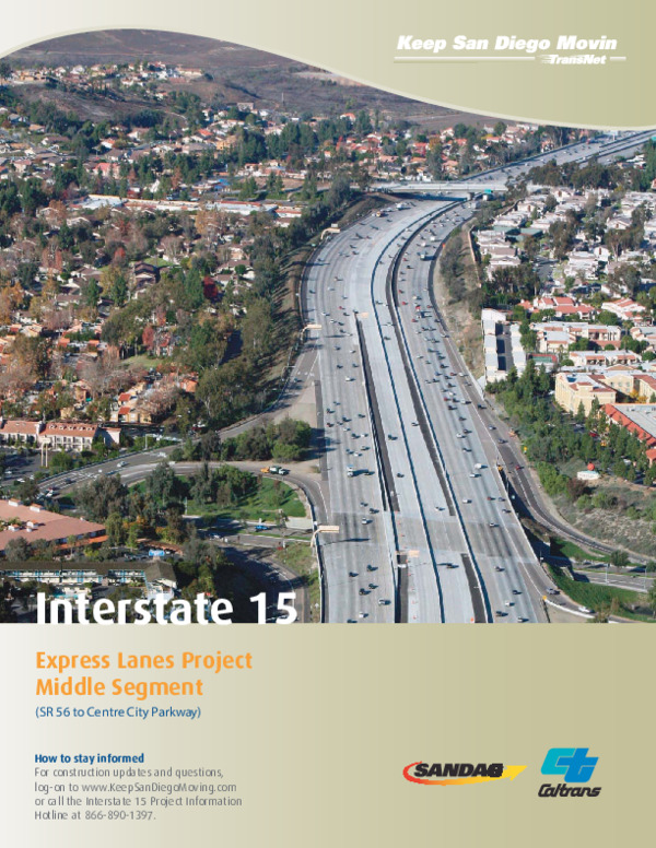 I-15 Managed Lanes Corridor