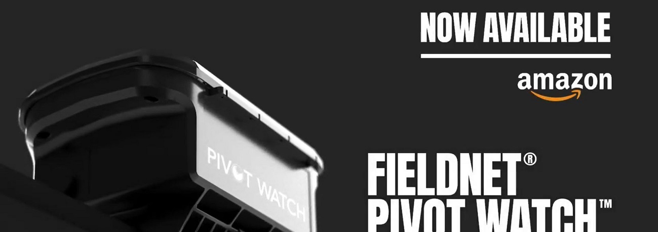 FieldNET Pivot Watch - Now Available on Amazon
