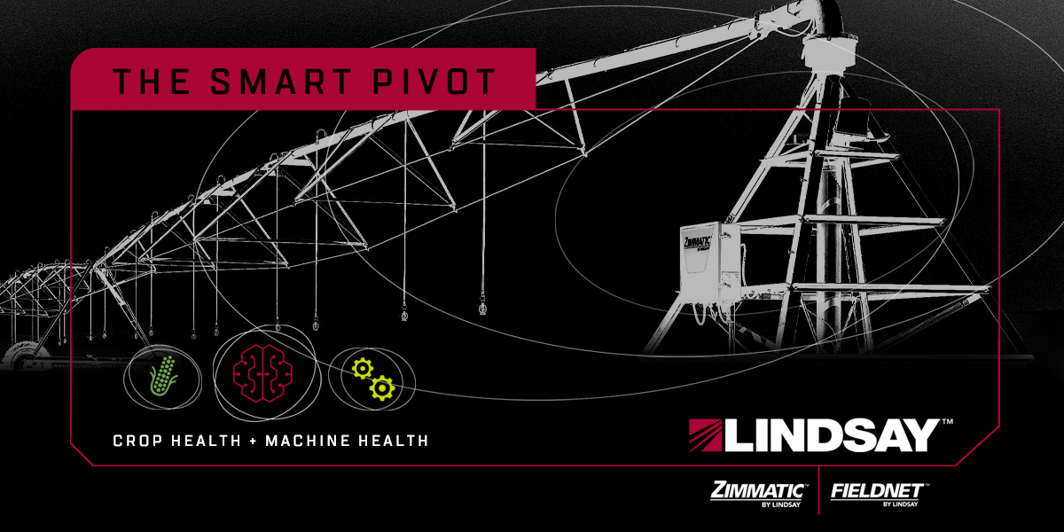 Lindsay Combines Advanced Agronomy with Predictive Machine Diagnostics to Create the First Smart Pivot