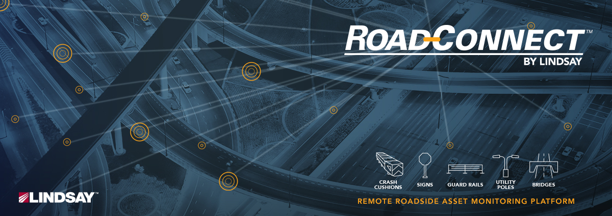 Lindsay Launches Remote Roadside Asset Monitoring Solution for DOTs