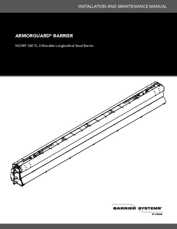 AmorGuard Temporary Barrier