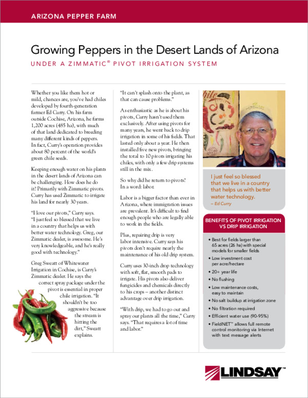 Arizona Pepper Farm Case Study