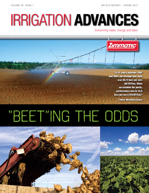 Irrigating Sugar Beets in Chile (Irrigation Advances)