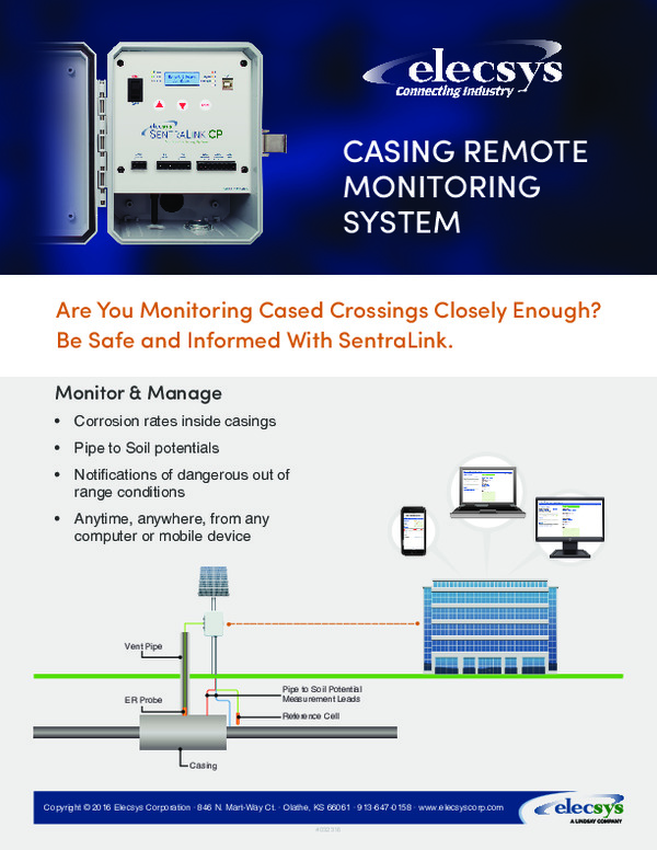 Casing Remote Monitoring System