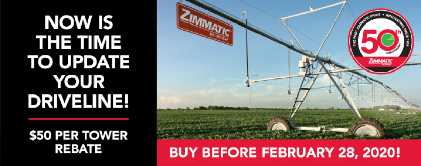 Extend the Life of Your Irrigation System with a New Center Pivot Driveline