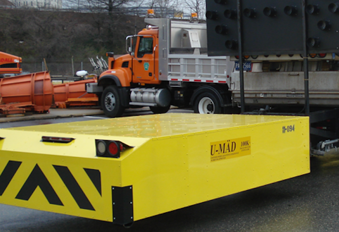 U-MAD Truck-Mounted Attenuator