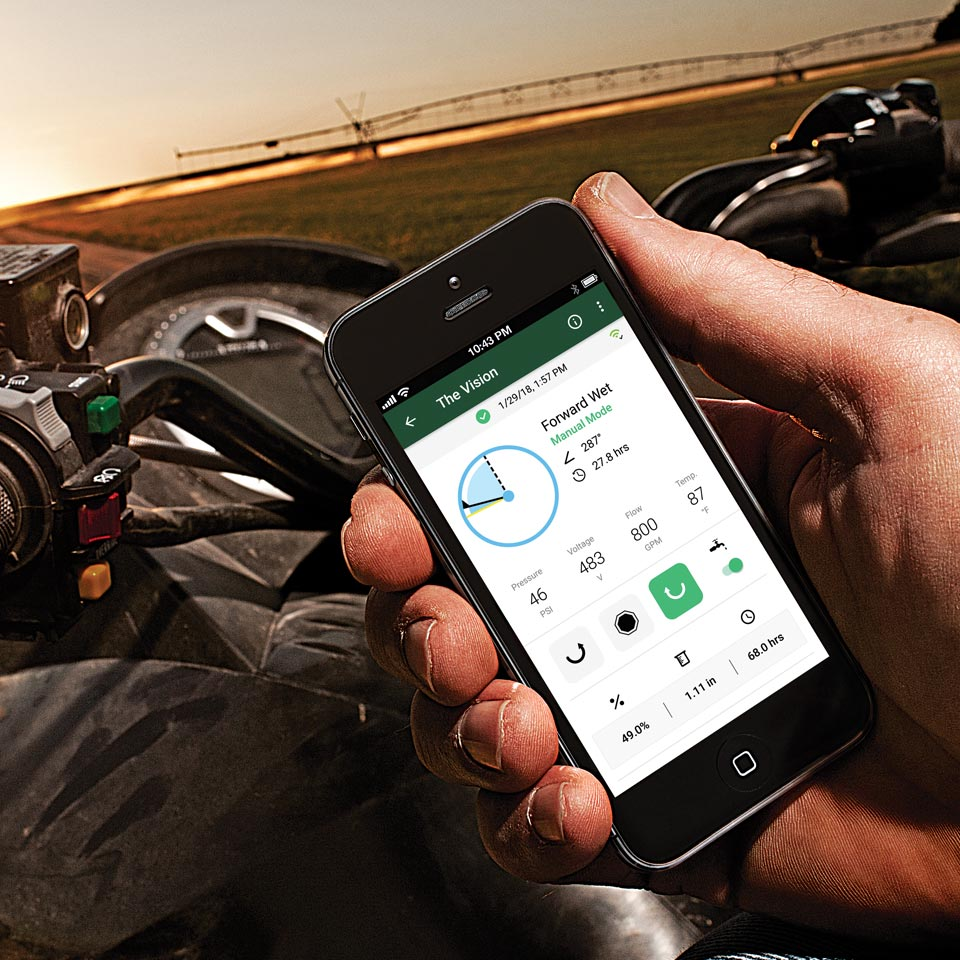Remotely manage your irrigation system from anywhere.
